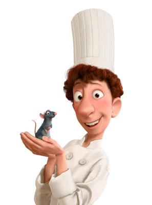 Ratatouille... otra vez más Pixar!!!